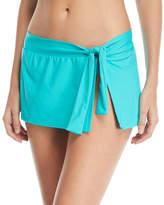 Tommy Bahama Tie-Waist Hipster Swim Skirt