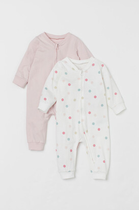 H&M 2-Pack Zip-Up Pyjamas