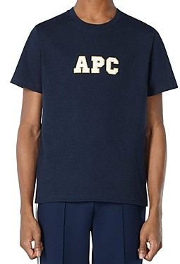 A.P.C. Embroidered Logo Tee