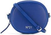 No.21 round crossbody bag - women - Cotton - One Size