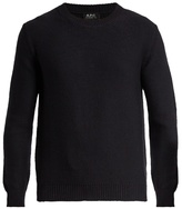 A.p.c. Wallace Crew-neck Wool Sweater