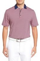Bobby Jones Men's Xh20 Matzah Stripe Stretch Golf Polo