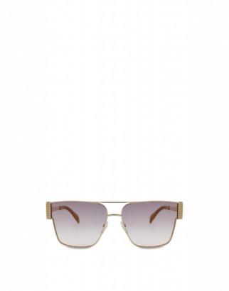 Moschino Bijou Chain Sunglasses Woman Pink Size Single Size
