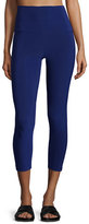 Norma Kamali Solid Stretch Leggings, Blueberry