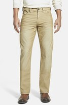 True Religion Men's Brand Jeans 'Ricky' Relaxed Straight Leg Corduroy Pants