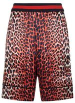3.1 Phillip Lim Reversible Leopard Print Boxing Shorts