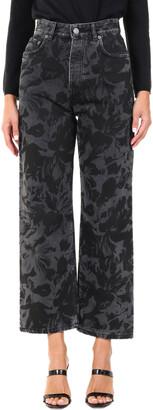 Balenciaga Ankle Cut Straight-Leg Jeans