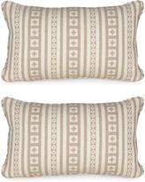 Miles Talbott Collection S/2 Aspen Lodge 12x20 Pillows, Tan