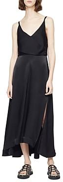 3.1 Phillip Lim V Neck Midi Dress
