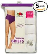 Fruit of the Loom Women's 5Pack Briefs Briefs Underwear Panties 9