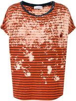 Faith Connexion striped T-shirt - unisex - Cotton - S