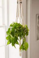 Urban Outfitters Iris Macrame Hanging Planter