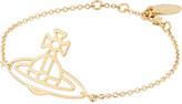 Vivienne Westwood Thin Lines flat orb bracelet
