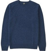 Uniqlo Men's Lambswool Crew Neck Sweater