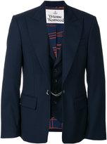 Vivienne Westwood built-in waistcoat jacket