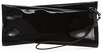 Christian Louboutin Loubitwist Patent Leather Clutch