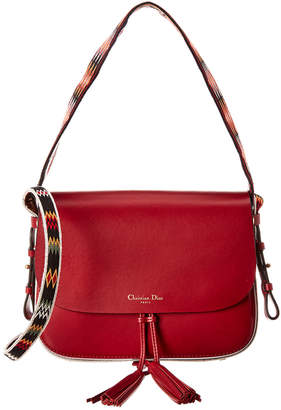 Christian Dior Diorodeo Leather Crossbody