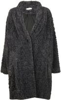Etoile Isabel Marant Antrhacite adams Faux Fur Coat