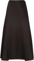 Dion Lee High-rise wool-blend midi skirt