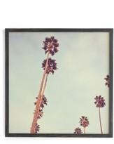 DENY Designs Streets Of Los Angeles Framed Wall Art