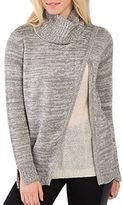 Kensie Tissue Knit Turtleneck Sweater