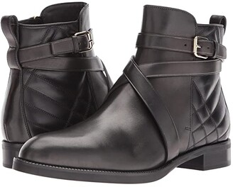 Burberry Vaughan Qui (Black) Women's Boots