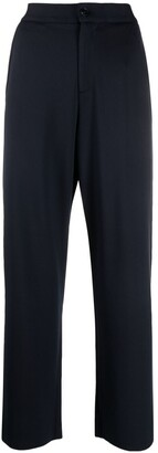 Barena High-Rise Wide-Leg Trousers