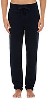 Hamilton and Hare Men's Luxe Waffle-Knit Lounge Pants-NAVY