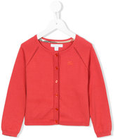Burberry round neck cardigan - kids - Cotton - 12 yrs