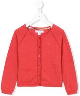 Burberry round neck cardigan - kids - Cotton - 4 yrs