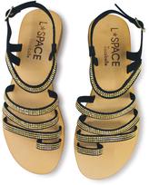 Cocobelle Black Sicily Leather Sandal