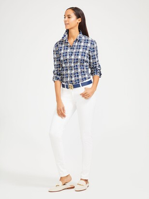 J.Mclaughlin Lois Shirt in Spring Picnic