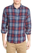 Lucky Brand Men's 'Jon' Plaid Twill Work Shirt