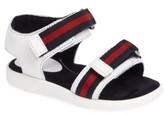 Gucci Toddler Stripe Web Sandal