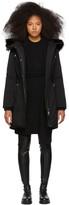 Mackage SSENSE Exclusive Black Down Anabel Coat