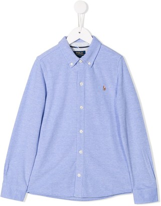 Ralph Lauren Kids Logo Embroidered Shirt