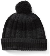 Gap Striped cable knit beanie