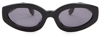 Le Specs Luxe Meteor Amour 53MM Oval Cat Eye Sunglasses