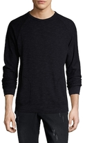 Velvet by Graham & Spencer Long Sleeve Crewneck Sweatshirt