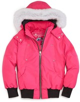 Moose Knuckles Girls' Bomber Jacket - Big Kid