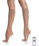 Berkshire Ultra Sheer Knee High Sandalfoot Stockings - City Beige