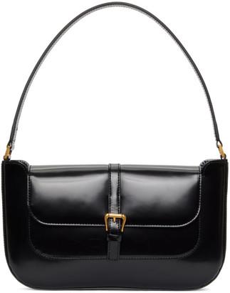 BY FAR Black Patent Miranda Shoulder Bag