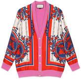 Gucci Reversible oversize cardigan