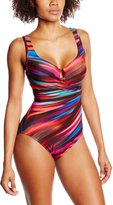 Miraclesuit Women's Color Run One Piece Surplice Swimsuit