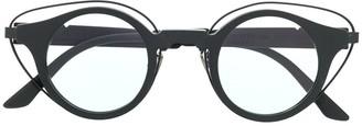 Kuboraum Round Frame Tinted Glasses