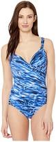 Miraclesuit Lynx Lazuli Siren One-Piece (Delphine Blue) Women's Swimsuits One Piece