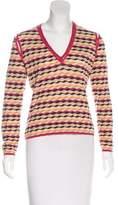 Missoni Long Sleeve Wool Top