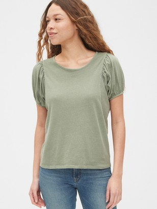 Gap Puff Sleeve Shirt