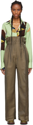 Acne Studios Taupe Perrie Suit Trousers