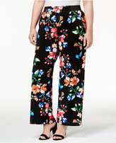 INC International Concepts Plus Size Printed Pants, Only at Macy's
